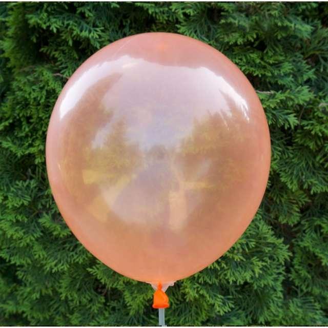 Balony Crystal pomarańczowe Dekoracje Polska 12 5 szt