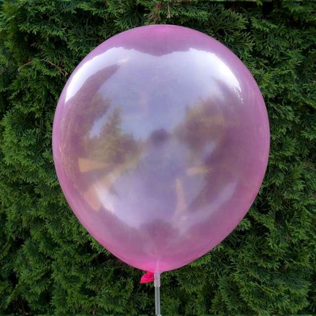 Balony Crystal różowe Dekoracje Polska 12 5 szt
