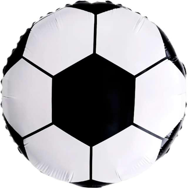Balon foliowy Piłka nożna DekoracjePolska 18 RND