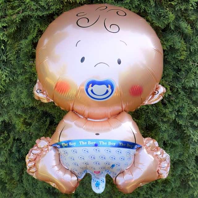 Balon foliowy Bobas - Chłopiec DekoracjePolska 22