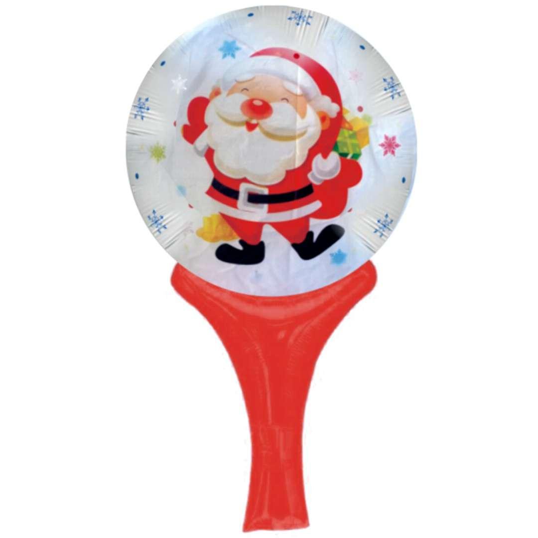 Balon foliowy Mikołaj z workiem prezentów 18 SHP