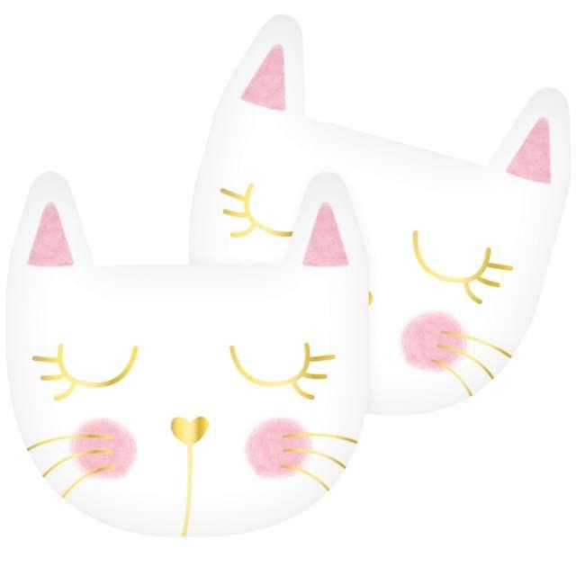Serwetki papierowe Kotek różowe Godan 33 cm 12 szt