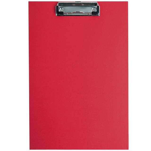 """Clipboard """"Podkładka A4 z klipem"""", czerwona, D.RECT"""