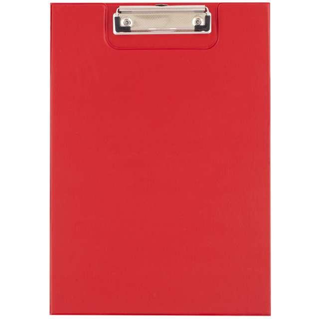 """Clipboard """"Podkładka A4 z klipem, zamykana"""", czerwona, D.RECT"""