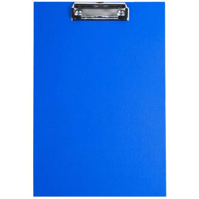 "Clipboard ""Podkładka A4 z klipem"", niebieska, D.RECT"