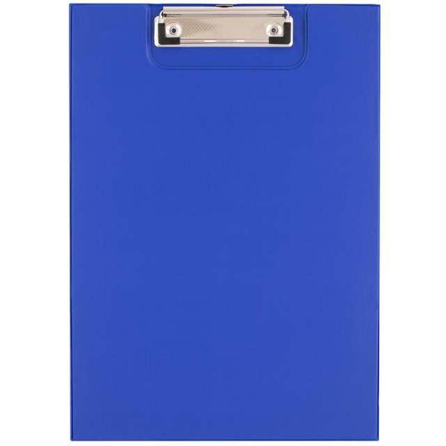 """Clipboard """"Podkładka A4 z klipem, zamykana"""", niebieska, D.RECT"""