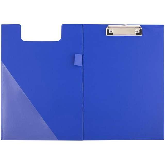 Clipboard Podkładka A4 z klipem zamykana niebieska D.RECT
