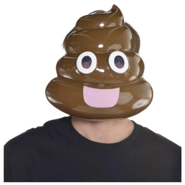 Maska Poop - Kupa plastikowa Amscan