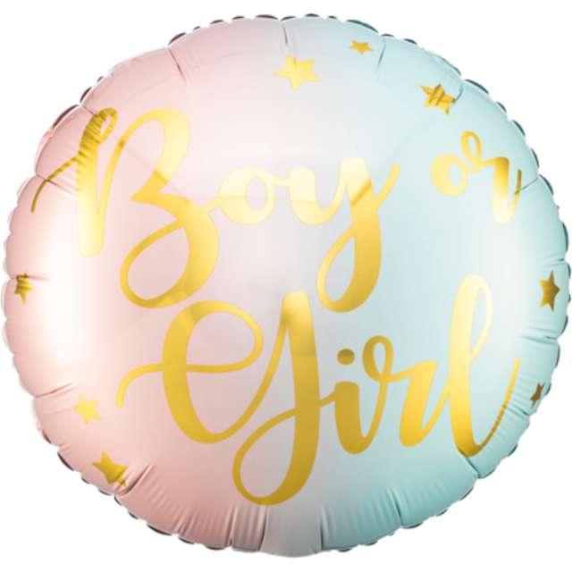Balon foliowy Boy or Girl PartyDeco 14 RND