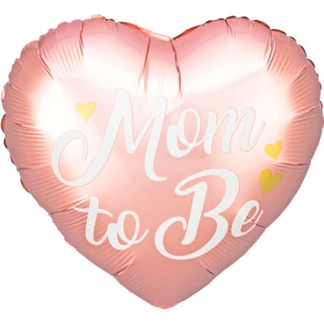 Balon foliowy Mom to Be różowy PartyDeco 14 HRT