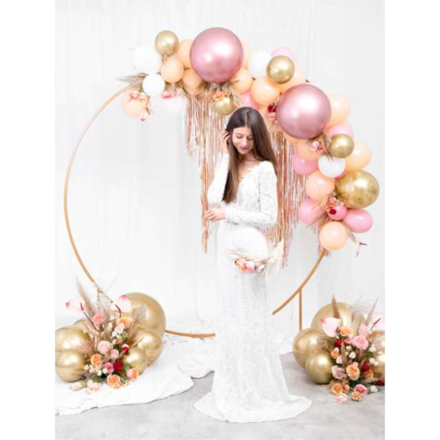 Balon Glossy XL rose gold Partydeco 24
