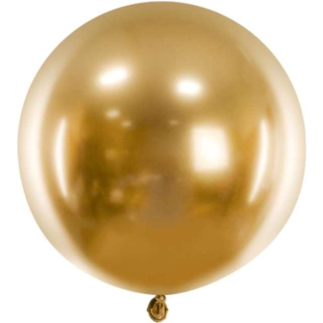 Balon Glossy XL złoty Partydeco 24