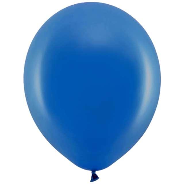 Balony Rainbow - Pastelowe granatowe PartyDeco 11 10szt