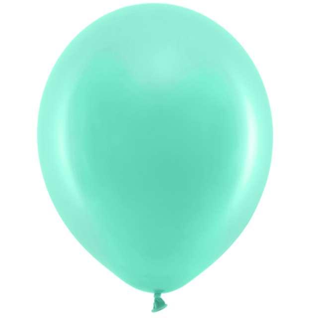 Balony Rainbow - Pastelowe miętowe PartyDeco 11 10szt