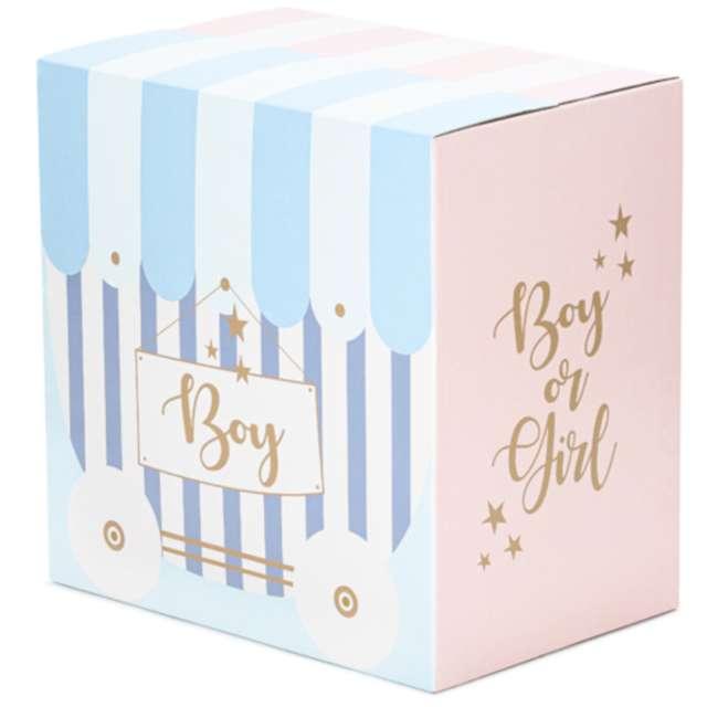 _xx_Karton do poczty balonowej - Boy or Girl 60x40x60cm (1 op. / 5 szt.)