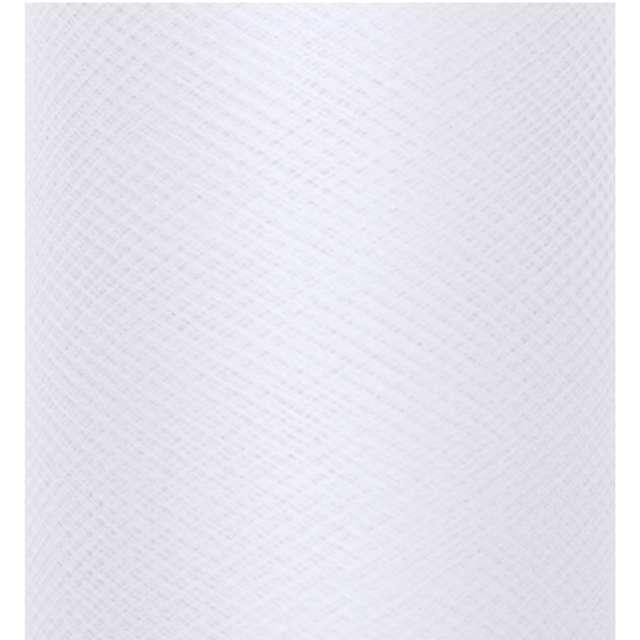 Tiul gładki białysztywny PartyDeco 03 x 50 m