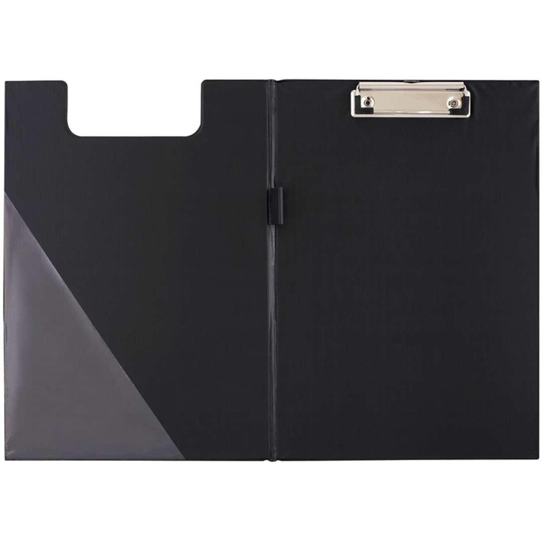 Clipboard Podkładka A5 z klipem zamykana czarna D.RECT