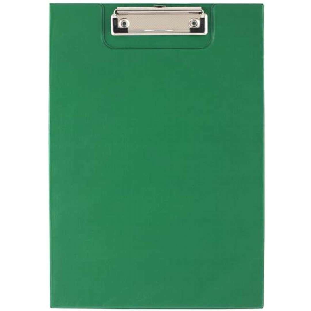 """Clipboard """"Podkładka A4 z klipem, zamykana"""", zielona, D.RECT"""