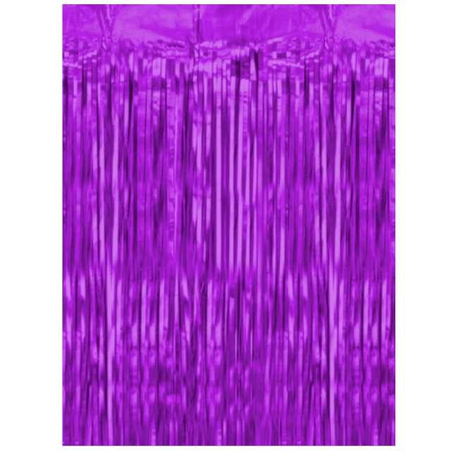 """Kurtyna na drzwi """"Classic"""", fioletowa, PartyPal, 100 x 200 cm"""