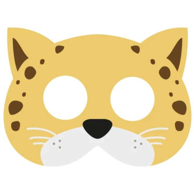 Maska Gepard filcowa PartyPal
