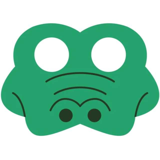 "Maska ""Krokodyl"", filcowa, PartyPal"