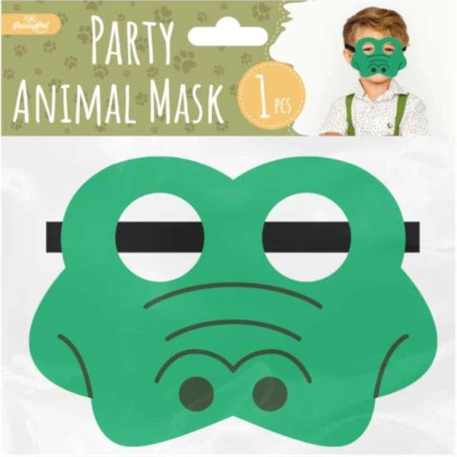 Maska Krokodyl filcowa PartyPal