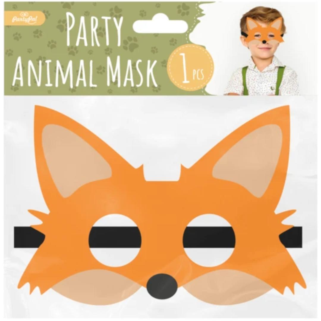 Maska Lisek filcowa PartyPal