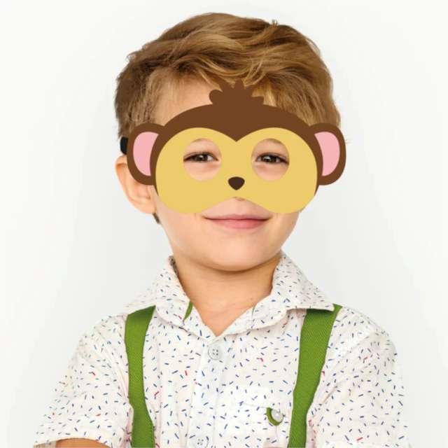 Maska Małpka filcowa PartyPal