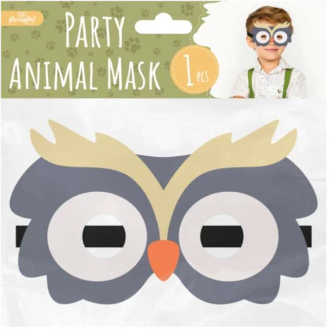 Maska Sowa filcowa PartyPal