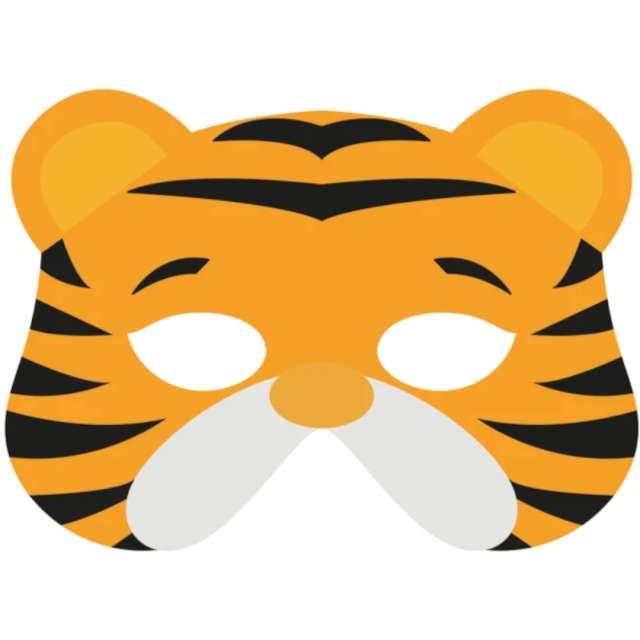 "Maska ""Tygrys"", filcowa, PartyPal"