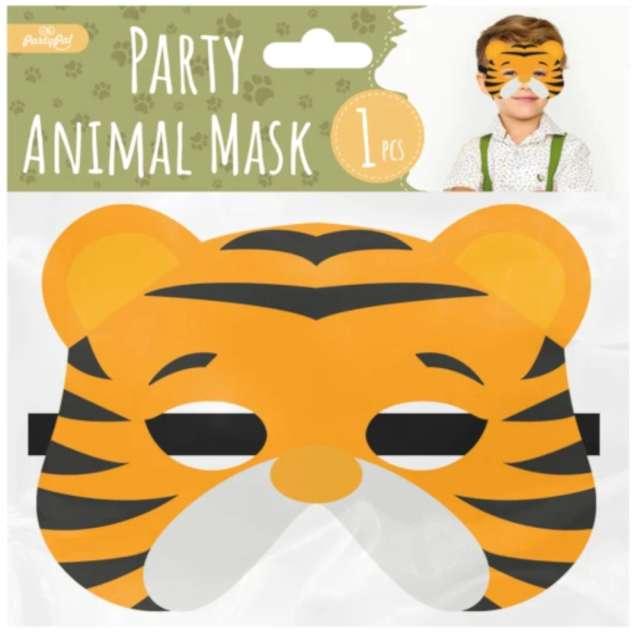 Maska Tygrys filcowa PartyPal