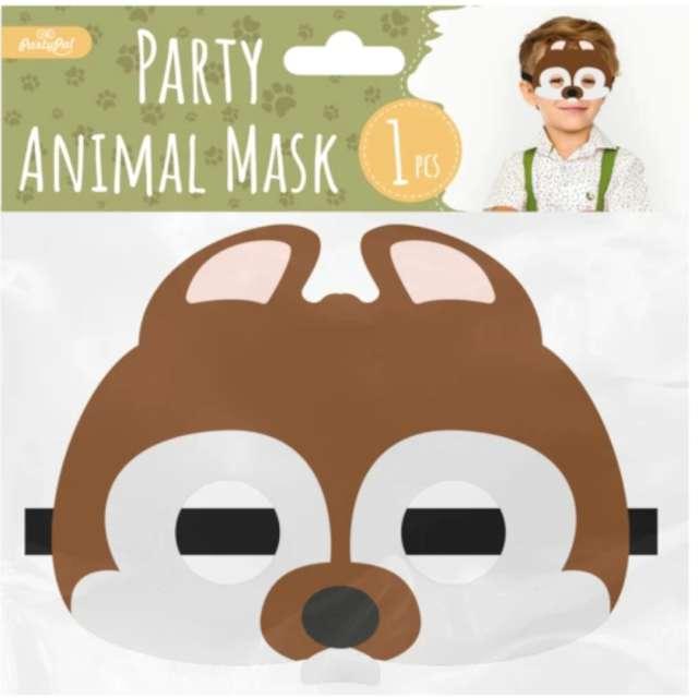 Maska Wiewiórka filcowa PartyPal