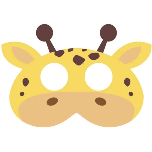 "Maska ""Żyrafa"", filcowa, PartyPal"