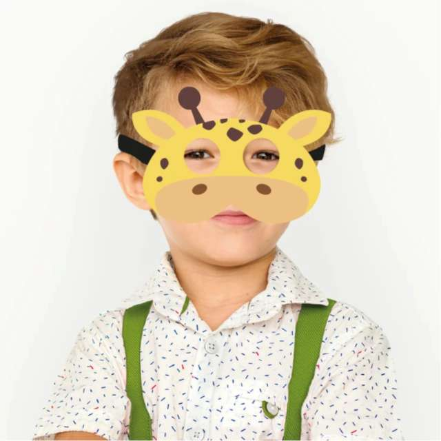 Maska Żyrafa filcowa PartyPal