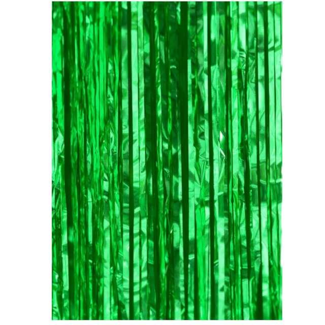 Kurtyna na drzwi Classic zielona PartyPal 200x100 cm