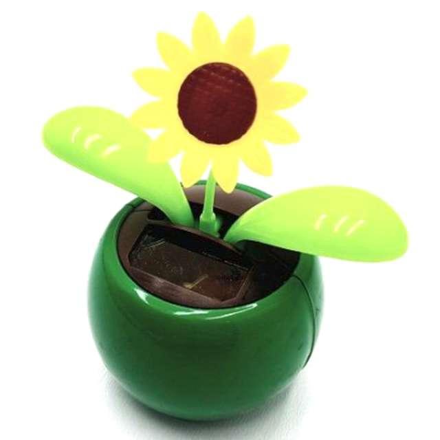 """Kwiatek solarny """"Tańczący Słonecznik"""", mix, 10cm"""