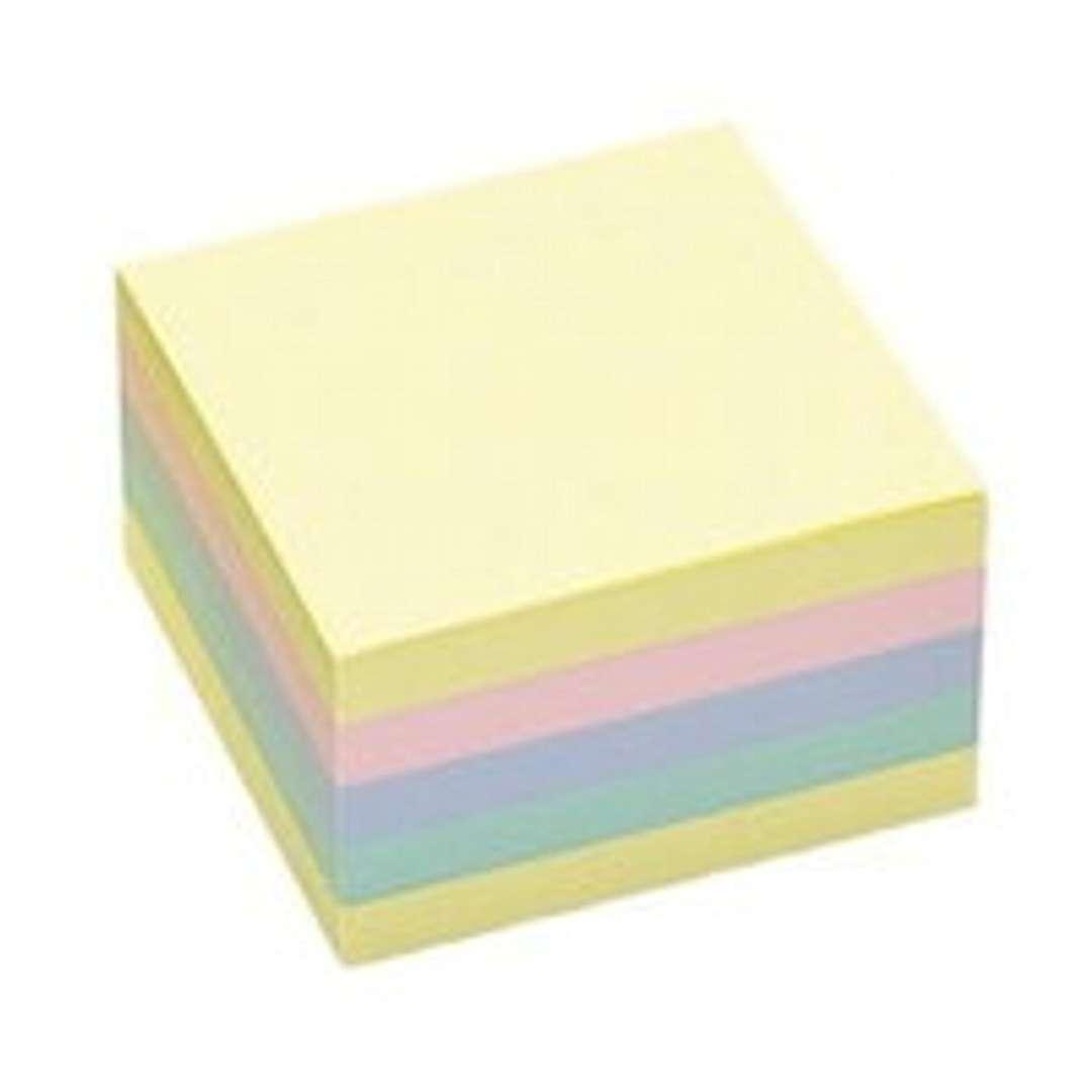"""Notes """"Kostka klejona"""", MIX pastel, 75x75 mm , Tix, 450 szt"""