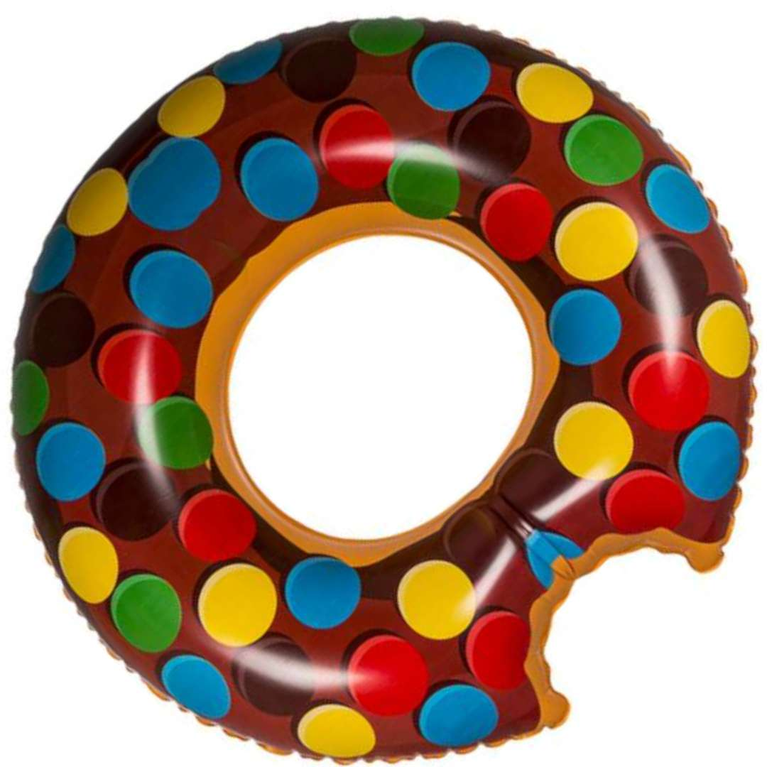 Koło do pływania Nadgryziony Donut XL mix OOTB 119cm