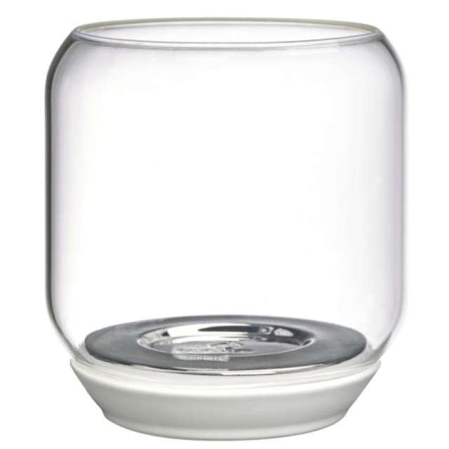 Świecznik Sparkle Light - lustro przeźroczysty Bolsius 13 cm