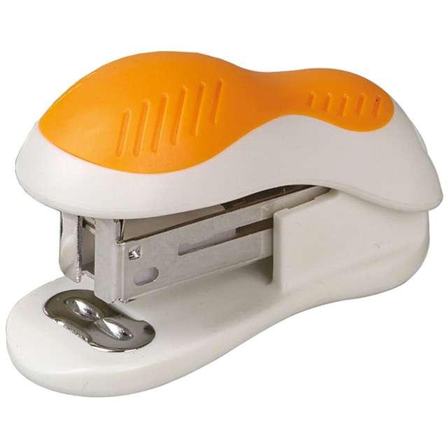 """Zszywacz biurowy """"Classic Mini"""", pomarańczowy, DELI No 0304"""