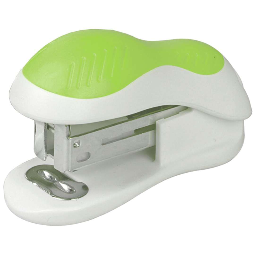 Zszywacz biurowy Classic Mini limonkowy DELI No 0304