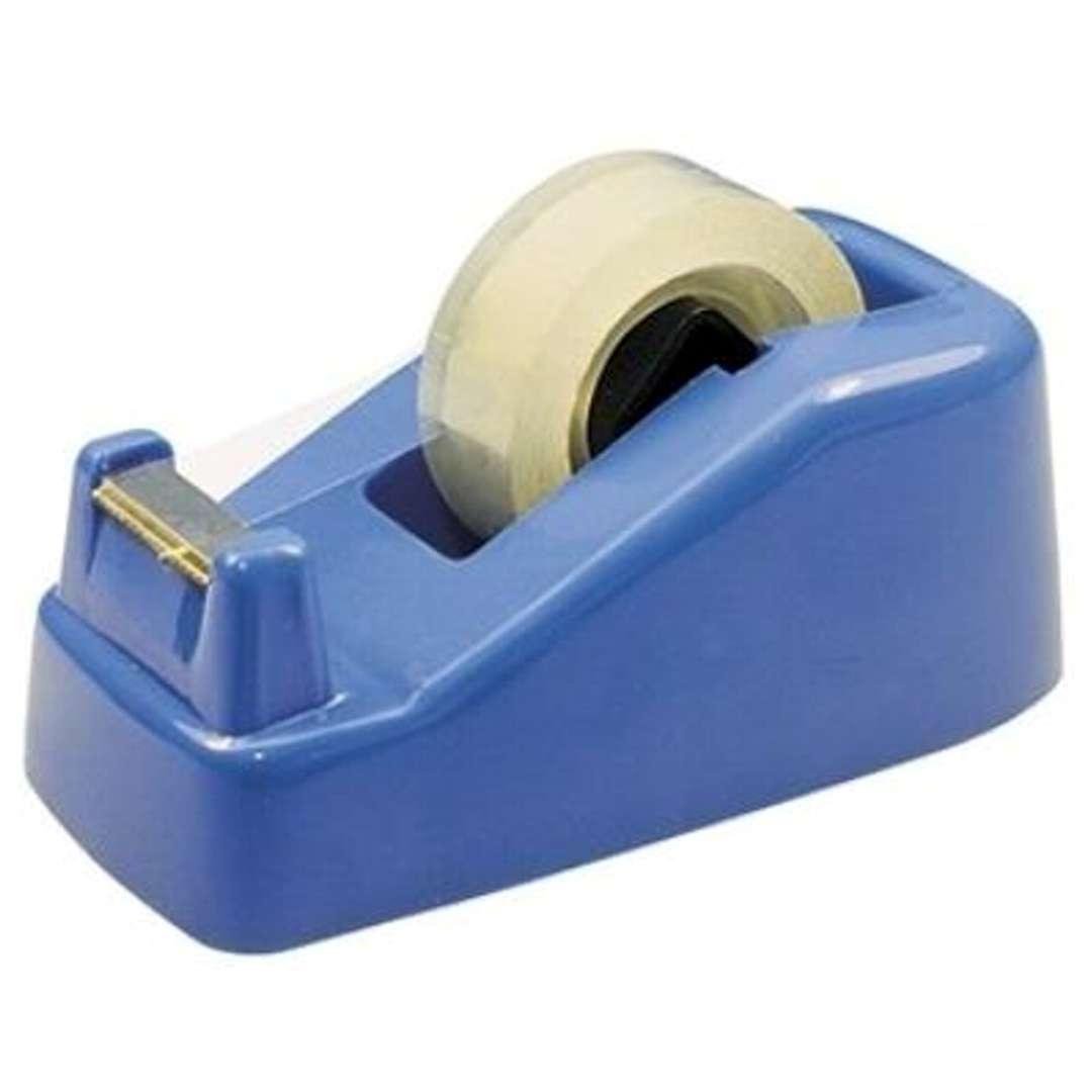 Podajnik Dyspenser do taśmy 20 mm niebieski DELI No 811