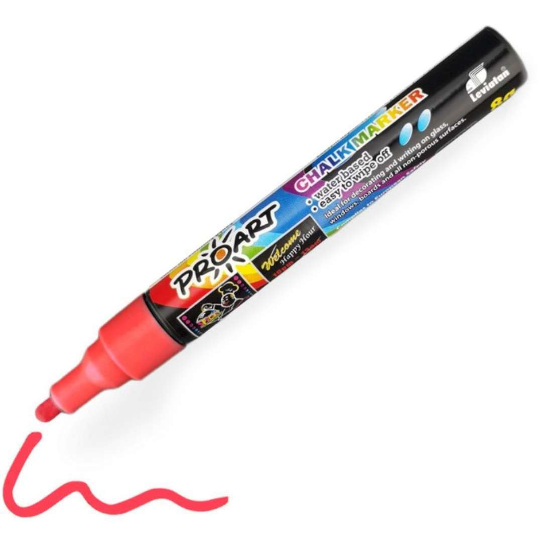 """Marker kredowy """"POPART"""", czerwony, 8 g"""