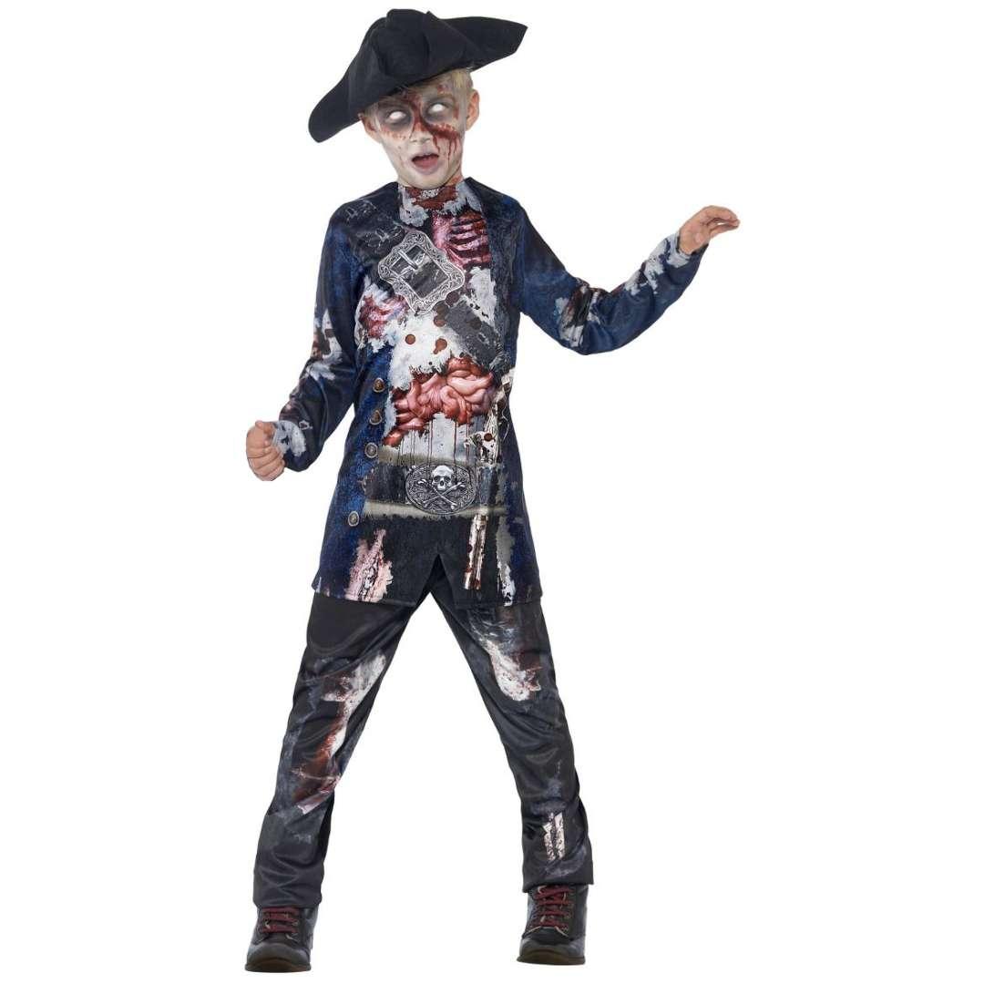 Strój dla dzieci Pirat Zombie Smiffys 4-6 lat