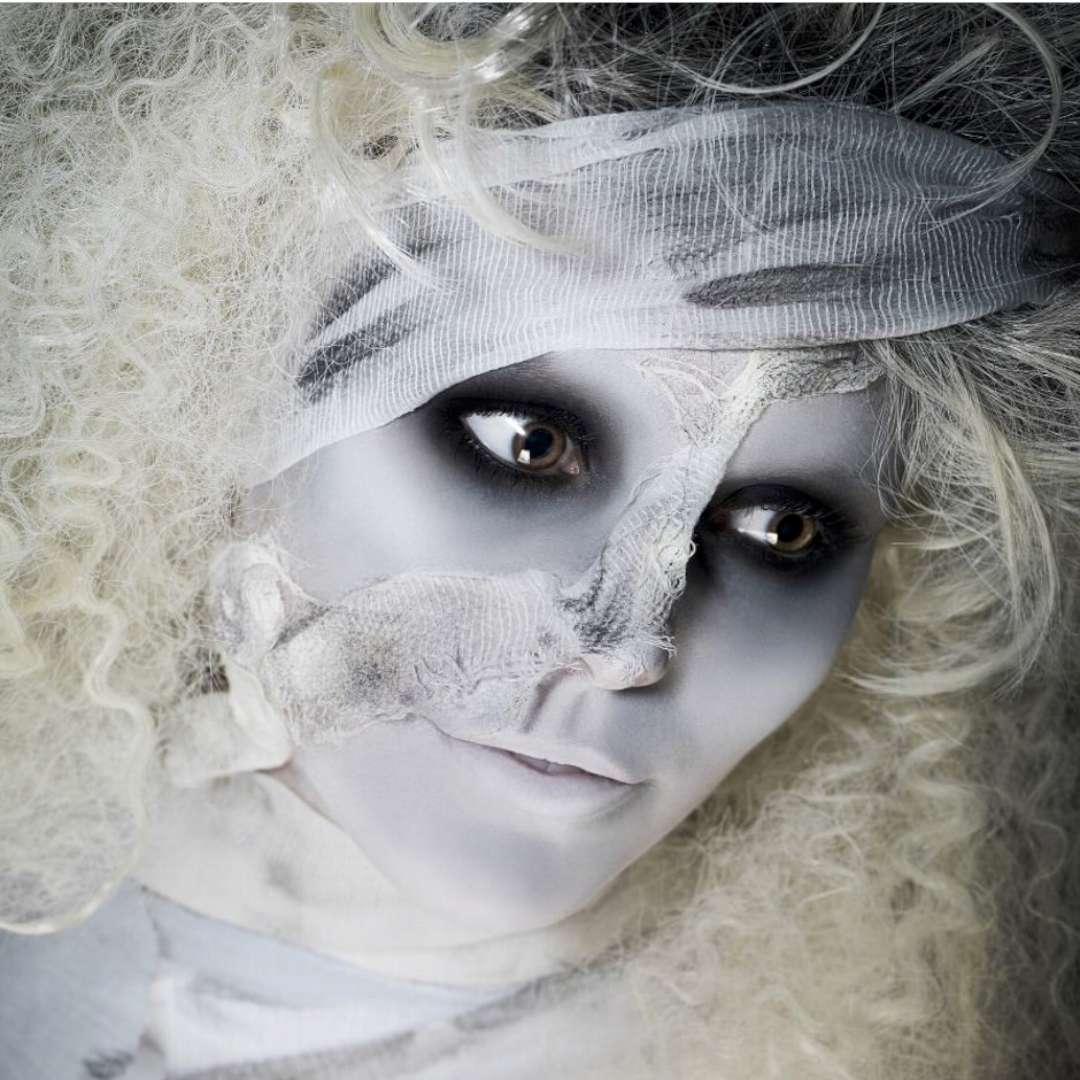 Make-up party Halloween - Biała Dama SMIFFYS zestaw