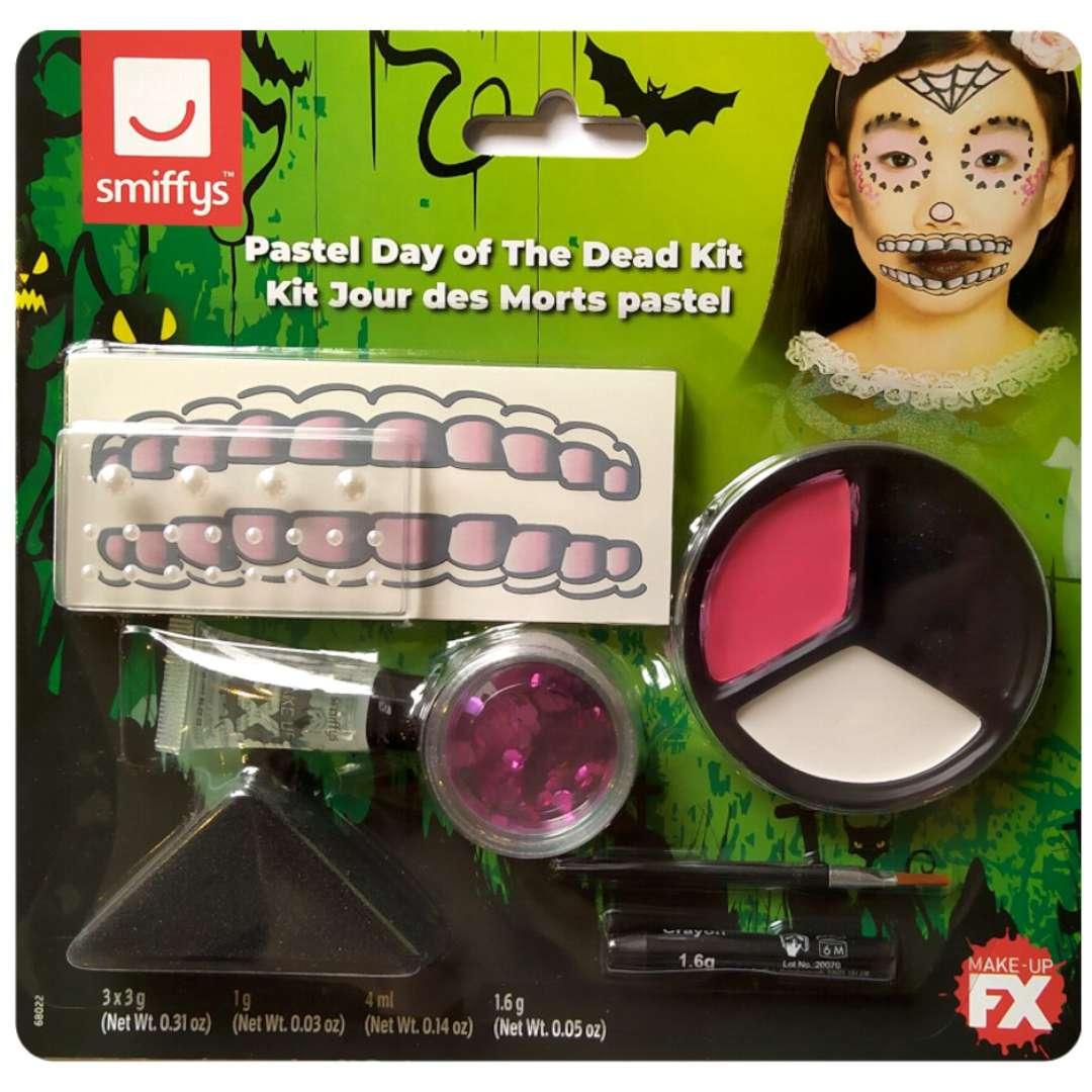 Make-up party Halloween - Dia de Muertos SMIFFYS zestaw