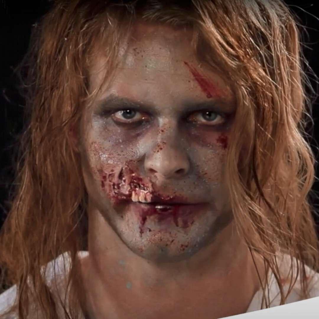 Make-up party Charakteryzacja blizn - Usta Zombie Smiffys