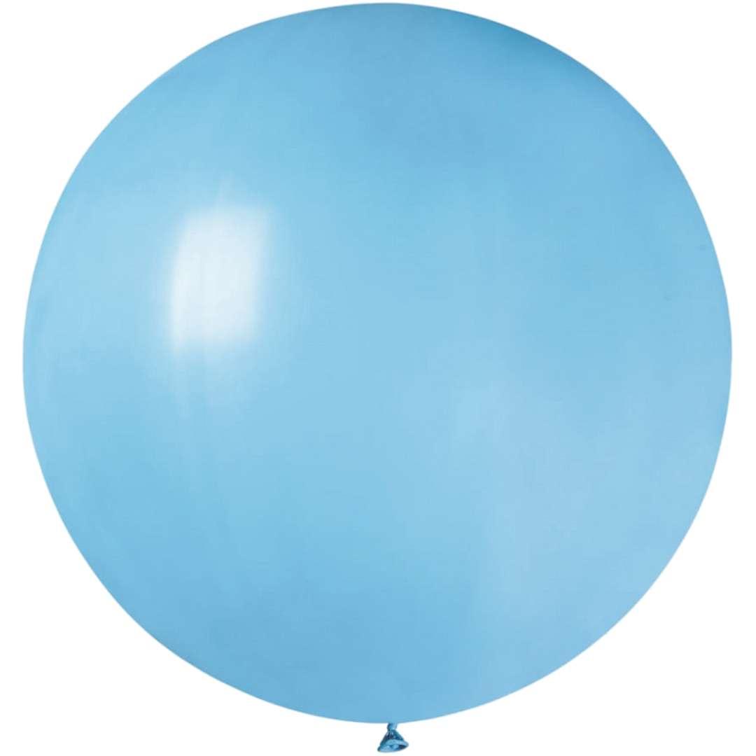 Balon Olbrzym błękitny pastel Gemar 80cm