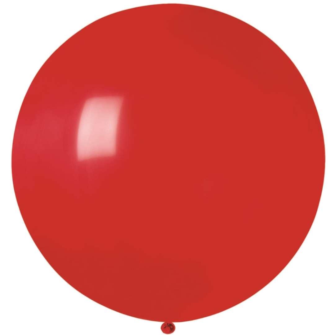 Balon Olbrzym czerwony Gemar 80cm