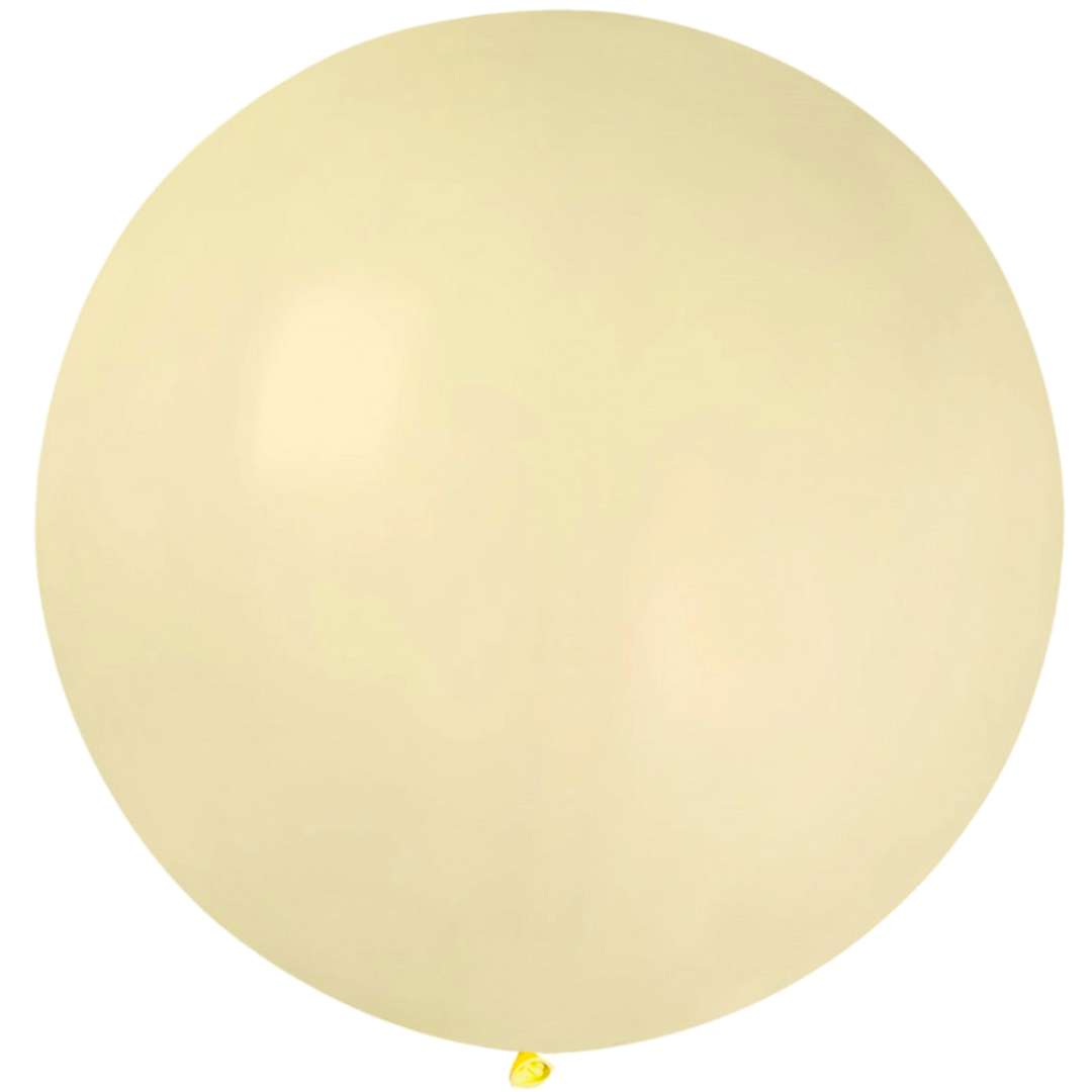 Balon Olbrzym ecru pastel Gemar 80cm